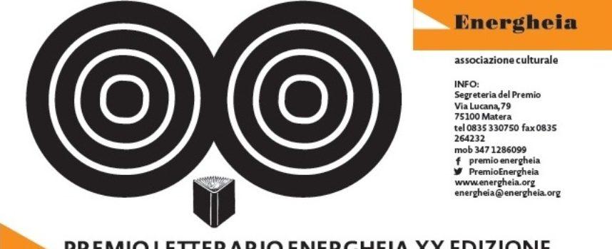 XX EDIZIONE del Premio Letterario ENERGHEIA