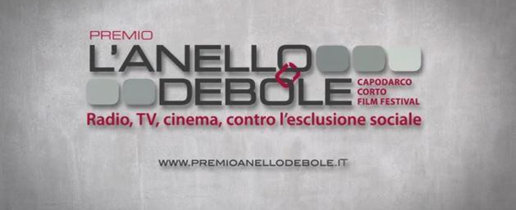Premio L'anello debole – Concorso audio e video