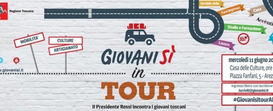 Giovanisì in Tour arriva ad Arezzo!