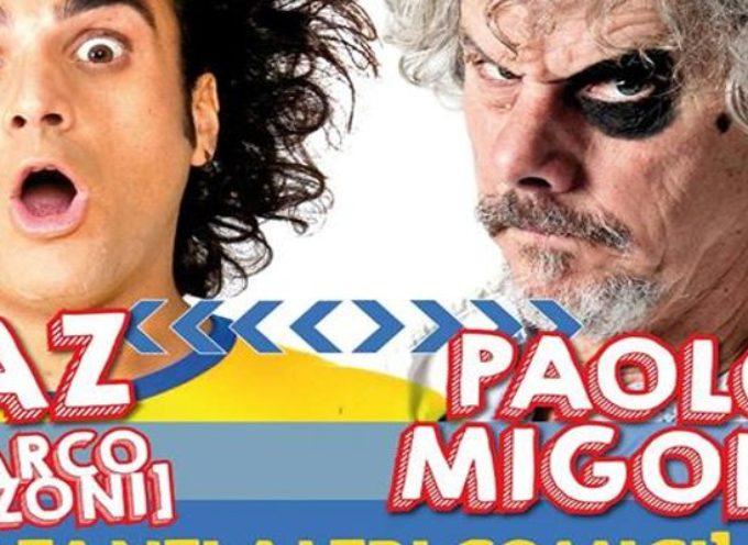 Paolo Migone e Baz al Teatro Tenda