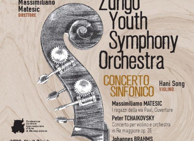 L'Orchestra Giovanile di Zurigo ad Arezzo – Concerto Sinfonico