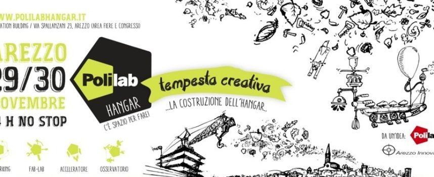 Ad Arezzo c'è uno spazio dove far crescere le idee: Polilab Hangar