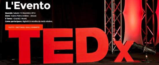 TEDxArezzo: I Grandi, i Nuovi