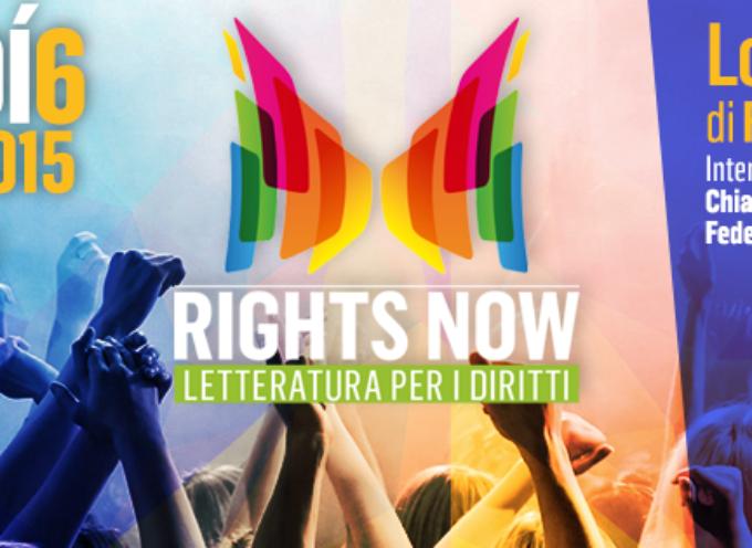 Rights Now – Letteratura per i diritti: Venerdì 6 febbraio a Informagiovani