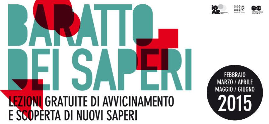 Baratto dei saperi 2015: Maggio digitale (lezioni gratuite!!)