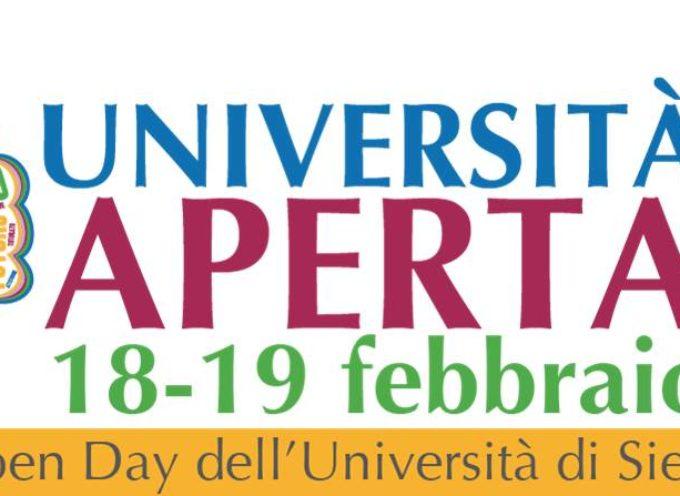Il 18 e 19 febbraio Università aperta agli studenti e alle famiglie