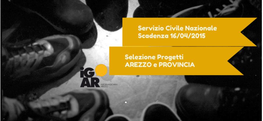 Servizio Civile Nazionale 2015: i progetti di Arezzo e provincia
