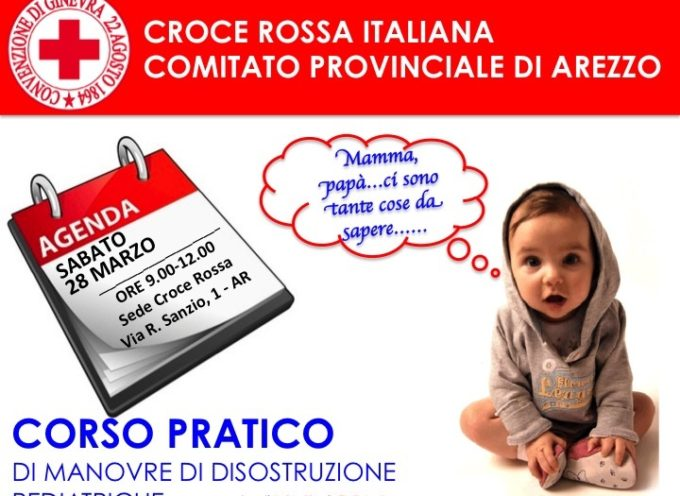 Corso C.R.I. sulle manovre di disostruzione pediatrica
