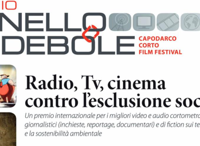 """Premio """"L'anello Debole"""" dedicato a contenuti media su sociale e ambiente"""