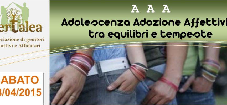 Seminario su Adolescenza e Affettività 18 aprile 2015 alla Casa Diritta