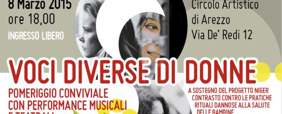"""8 marzo: ingresso gratuito al teatro Virginian con """"Voci diverse di donne"""""""