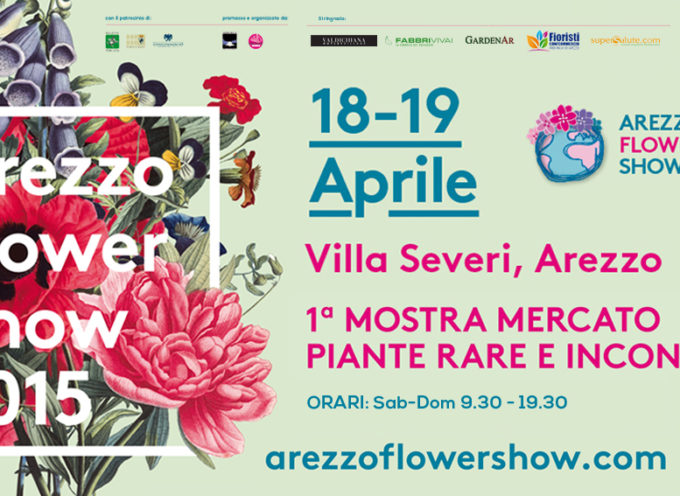 Sboccia ad Arezzo la prima edizione di Arezzo Flower Show