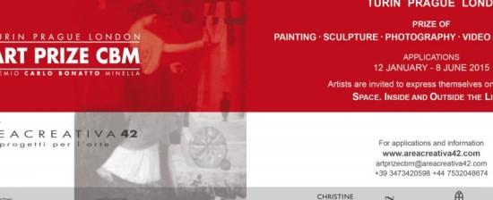ART PRIZE CBM – PREMIO CARLO BONATTO MINELLA (gratuito per artisti di età inferiore ai 30 anni)