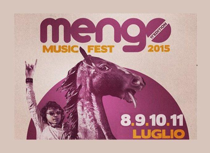 Mengo Music Fest XI edizione: 8-11 luglio al Parco di Via Alfieri