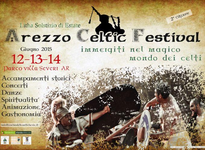 Arezzo Celtic Festival: dal 12 giugno a Villa Severi