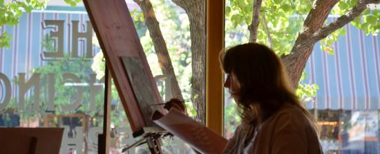 Concorso di pittura estemporanea organizzato dalla Pro Loco Giovi