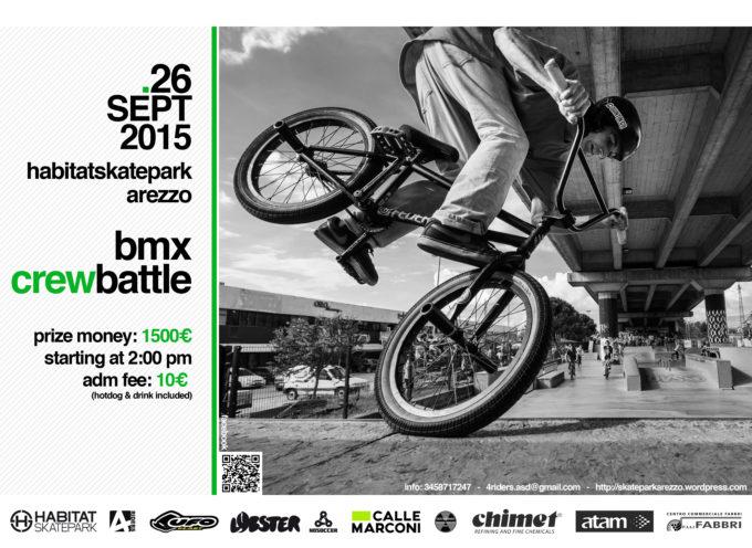 Bmx Crew Battle! 26 settembre all'Habitat Skatepark