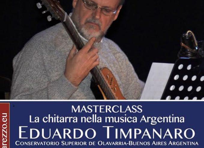 Masterclass: la chitarra nella musica argentina con Eduardo Timpanaro