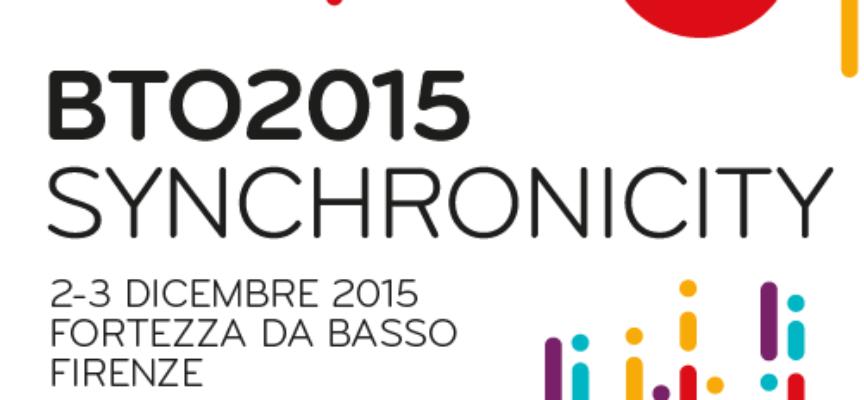 """BTO 2015 """"Synchronicity"""" a Firenze"""