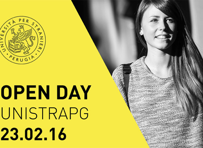 Università per Stranieri di Perugia – OPEN DAY 2016