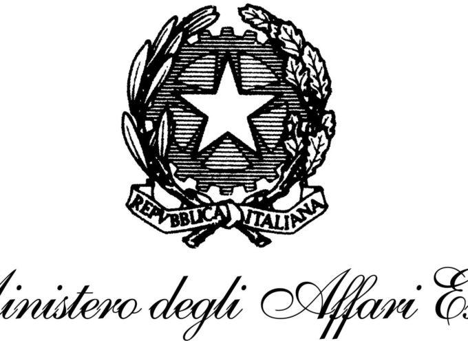 35 posti a concorso presso il Ministero degli Esteri