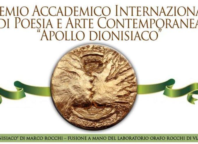 """Premio Internazionale di Poesia e Arte Contemporanea """"Apollo dionisiaco"""""""