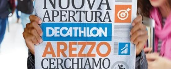 Nuova apertura Decathlon Arezzo: cercano sportivi