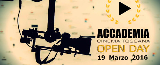 Open Day dell'Accademia Cinema Toscana
