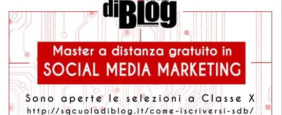 Master a distanza in Social Media Marketing di SQcuola di Blog