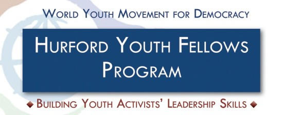 Stage: Tirocinio retribuito al World Youth Movement for Democracy di Washington