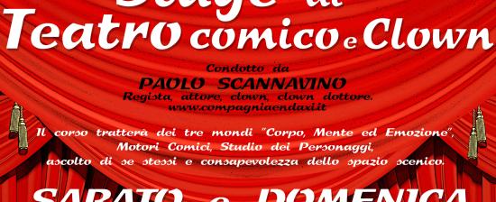 Stage di Teatro Comico e Clown ad Arezzo!