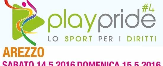 """Sabato e domenica ad Arezzo torna """"Play Pride #4 – lo sport per i diritti"""""""