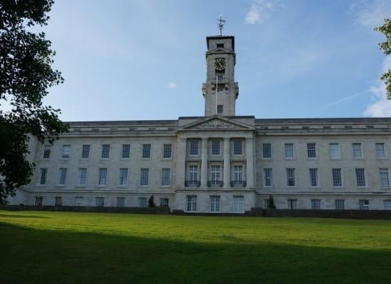 Borse di studio per master all'Università di Nottingham