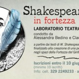 """Laboratorio teatrale """"Shakespeare in Fortezza"""""""