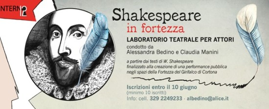 "Laboratorio teatrale ""Shakespeare in Fortezza"""