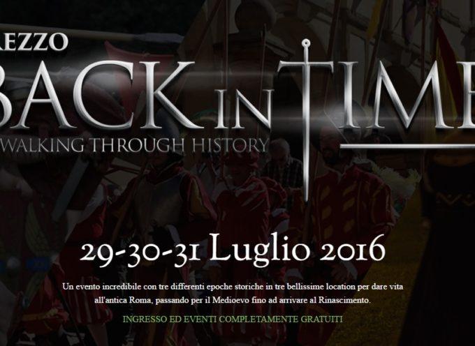 Arezzo Back in Time: dal 29 al 31 luglio un tuffo nel passato nel cuore della città