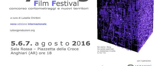 CyBorg Film Festival 2016 prima tappa ad Anghiari (Ar) il 5.6.7. agosto
