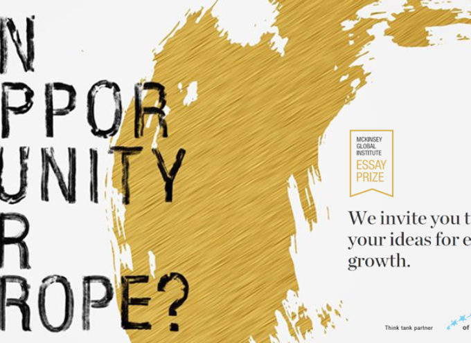 "Idee per la crescita economica dell'Europa ""An opportunity for Europe?"""