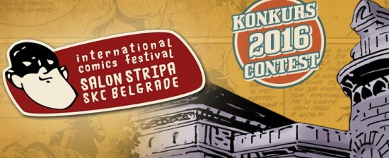 14th International Comics Festival 2016 – Belgrado