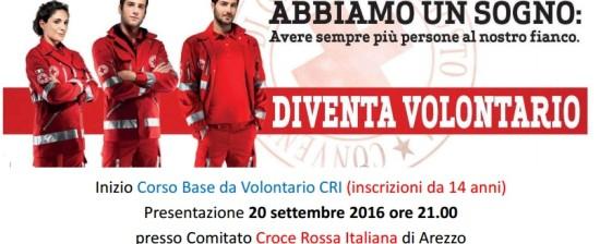Corso Base Volontario CRI – Iscriviti anche tu!
