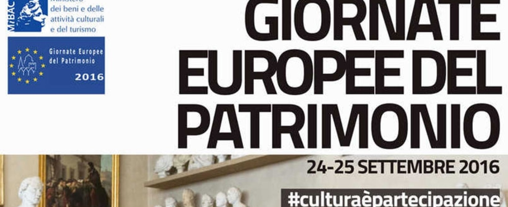 Giornate Europee del Patrimonio #GEP2016