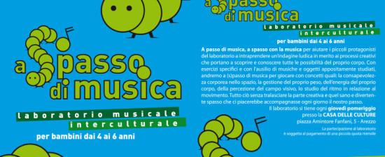 """A """"spasso"""" di musica con i laboratori dell'Orchestra Multietnica di Arezzo"""