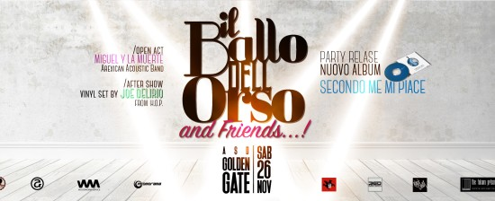 Il Ballo Dell'Orso & Friends: Release Party