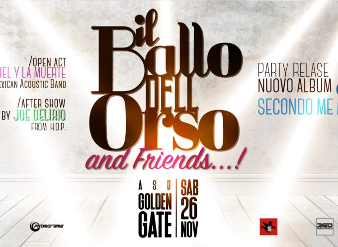 Il Ballo Dell'Orso & Friends: Release Party