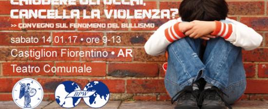 Chiudere gli occhi, cancella la violenza? Convegno sul fenomeno del bullismo a Castiglion Fiorentino