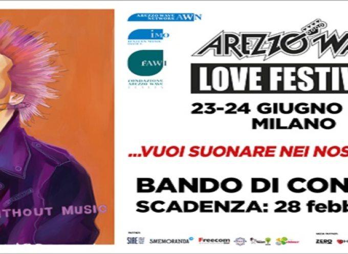 Aperto il concorso Arezzo Wave Band 2017!