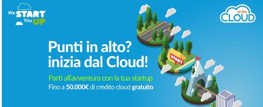 Aruba lancia il nuovo programma Startup, fino a 50.000 euro di credito cloud per le più innovative