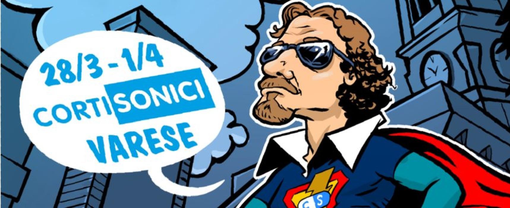 Cortisonici Film Festival dal 28 marzo al 1 aprile a Varese, con ospite il Marano Spot Festival
