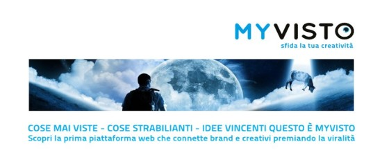 "Contest video ""MyVisto"": sfida la tua creatività!"
