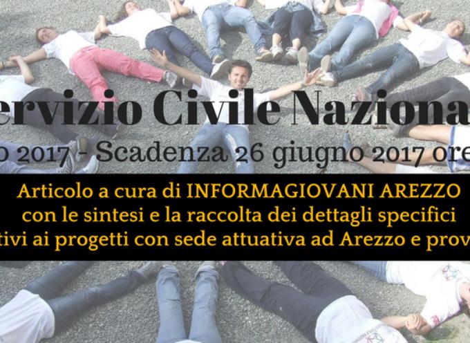 Servizio Civile Nazionale 2017: Progetti ad Arezzo e provincia